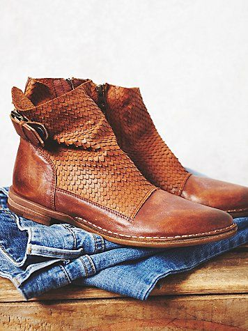 Immortalia Ankle Boot | Made from the finest Portuguese leathers these…