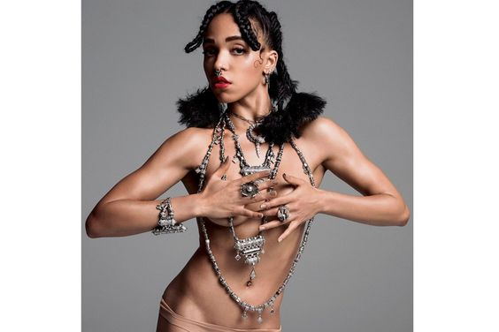 FKA twigs bares all for V Magazine - see pics