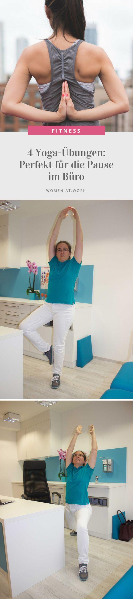 Therapeutisches Yoga kann die Behandlung von verschiedenen Erkrankungen unterstützen, besonders nützlich ist es aber auch in der Vorbeugung von Erkrankungen, Stress und Überbelastungssituationen. Besonders diese Eigenschaft können wir uns auch im Arbeitsalltag zunutze machen.