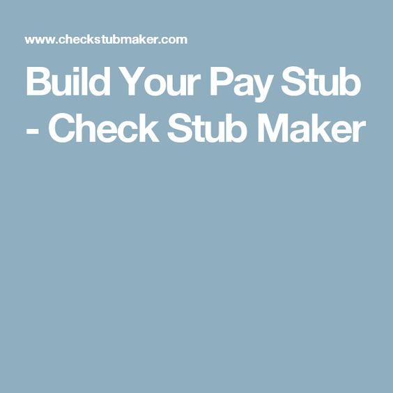 Make a paystubs by using free online pay stub maker It is also - fake invoice maker