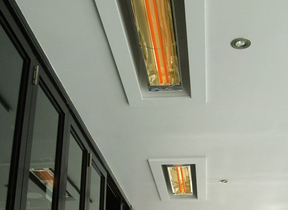 Recessed infrared heaters bathroom finishes guide - Infrared bathroom ceiling heaters ...