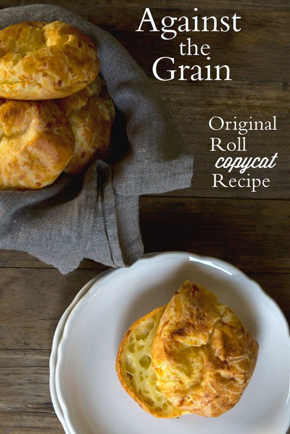 Gluten Free Bread Recipe: Against the Grain Original Roll Copycat.  I love Against the Grain rolls, but sadly they are no longer available in my area.  I'm going to make these!
