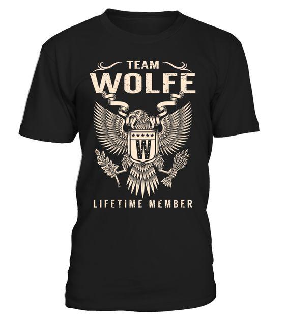 Team WOLFE Lifetime Member