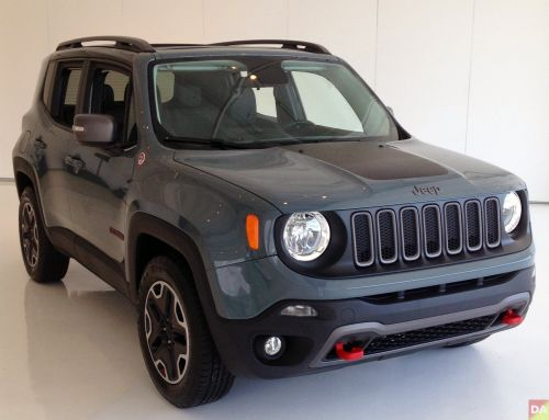 Jeep Renegade This Exact One The Offroad Rated Trailhawk In