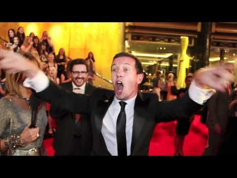 """ROVE McMANUS has always been one of MY FAVOURITES...Here he is at the TV WEEK LOGIES getting all the One Direction Girls REVVED up with his own version of ONE DIRECTION      JEWELCHIC """"LIKE"""" PAGE on FACEBOOK for LOADS of FUN things and pictures from the TV WEEK LOGIES!!!  http://www.facebook.com/JewelchicPage"""
