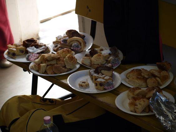 Selbstgemachte Kuchen aus Szentgotthárd...