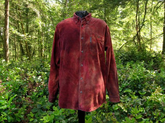 Men Shirt 50 Columbia Sportswear Long Sleeve by ExperienceVintage1