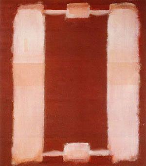 Mark Rothko Panel Six Harvard Mural 1962 - Reproduction Oil Paintings