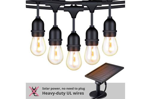 Pin On Top 10 Best Outdoor Led Solar String Lights Reviews