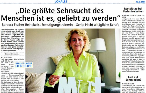 Stuttgarter Wochenblatt 18-8-2011