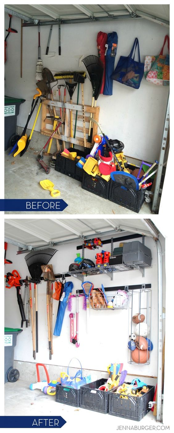 Getting organized in the garage: tips   ideas for garage ...