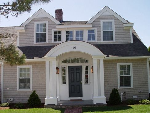 Cape cod addition ideas along with additions to dutch for Cape cod house exterior design