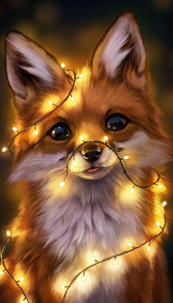 Lovely Fox Cute Cartoon Animals Baby Animals Super Cute Cute Animal Drawings