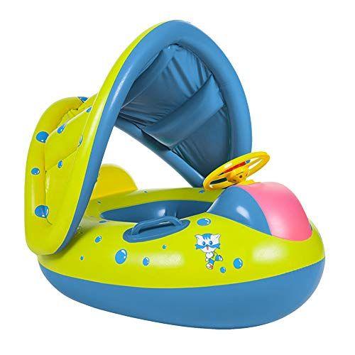 Baby Swim Ring gonflable bébé flotteur Enfants Piscine Eau siège avec auvent