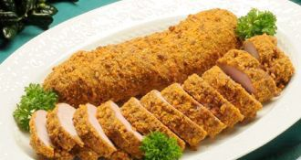 Southern Recipes and Cooking Products | House-Autry Mills Recipe for Orange-Pecan Crusted Pork Tenderloin