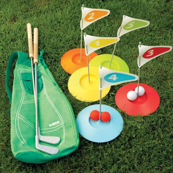 Mini golf set set up your own mini golf course in the garden with this simple putting game it for Garden city mini golf