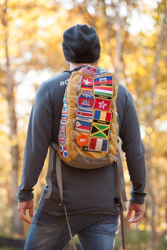Sew a World Race Patch on your pack as a reminder of where you've been, or where you're headed.