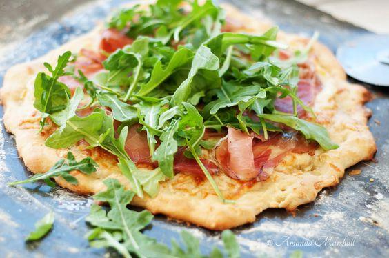 Marshalls Abroad: Summer Arugula & Prosciutto Pizza with Melone