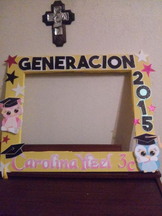 Marco de unicel para graduacion buscar con google - Fotografia cuadros decoracion ...