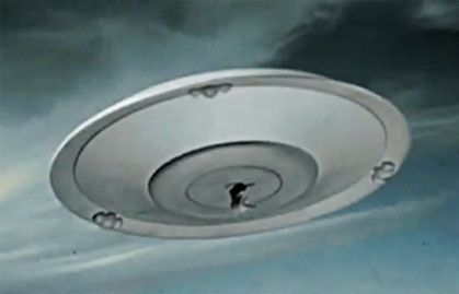 Saucer weapon deployed!  EARTH VS THE FLYING SAUCERS (1956)  https://www.facebook.com/groups/58198980959/