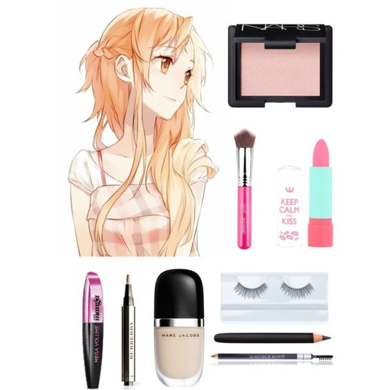 Asuna from Sword Art Online Makeup