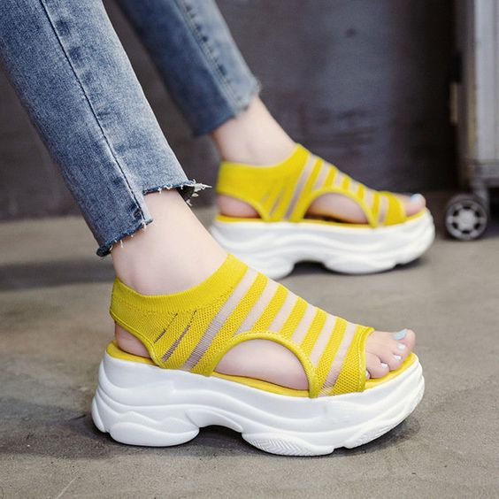 38 Platform Comfort Sandals To Update You Wardrobe This Summer shoes womenshoes footwear shoestrends