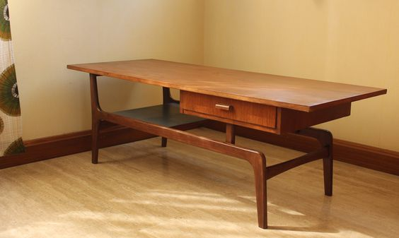 Table Basse Scandinave Ann Es 50 Vintage 50s Vintage Tables And Vintage