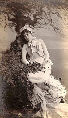 Jose Maria Mora - Actress Alma Stanley,c.1890