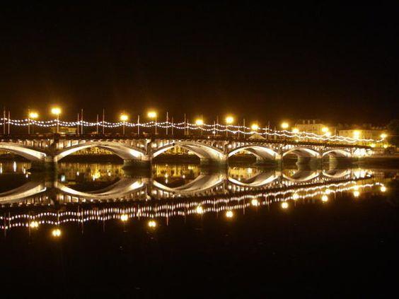Le Pont Saint-Esprit (Bayoone de nuit)