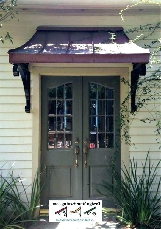 10 Exhilarating Modern Entrance Canopy Ideas Door Awnings