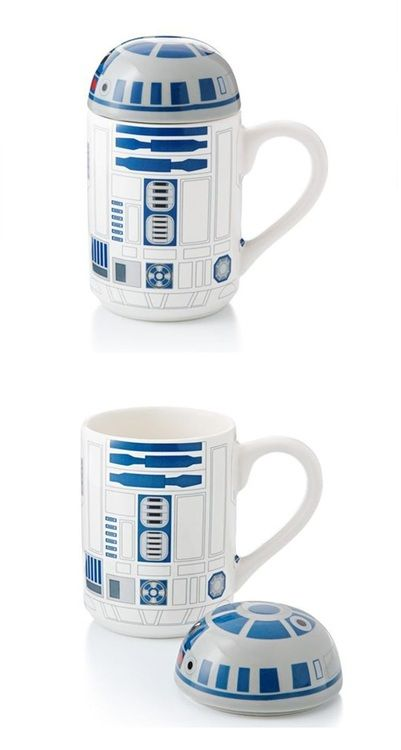 Artoo Mug. When you remove his lid he makes a sound. Click the link to purchase.