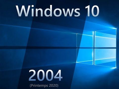 Version 2004 windows10