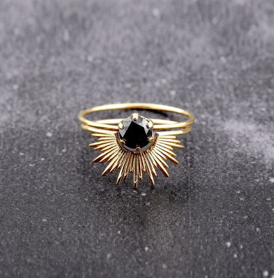 Sarah and Sebastian http://store.sarahandsebastian.com/products/nimbus-ring-gold…
