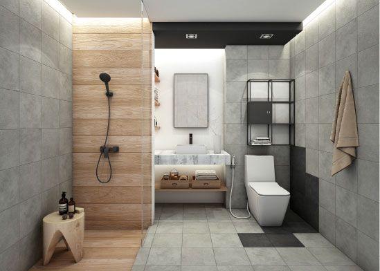 36 ไอเด ย แต งห องน ำส ดำ แบบห องน ำส ดำ เร ยบหร โมเด ร น 5 Modern Bathroom White Bathroom Designs Bathroom Design