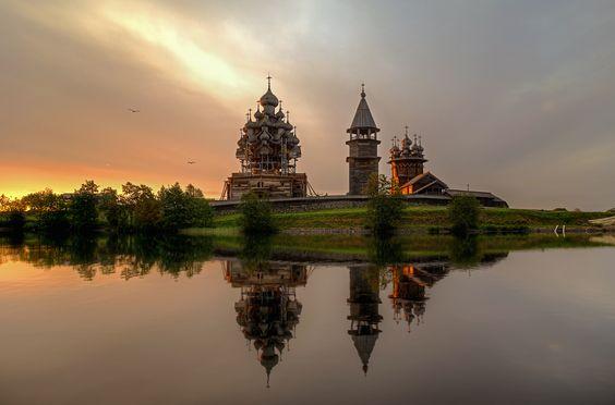 35PHOTO - Гордеев Эдуард - Кижи. Церковь Преображения Господня
