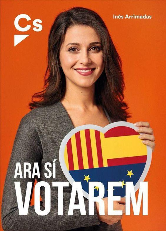 Affiche campagne électorale espagne