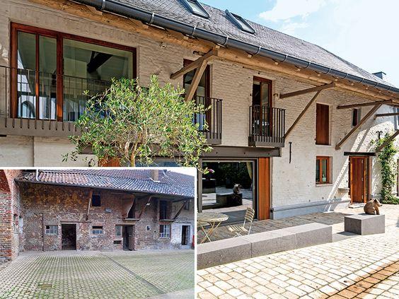 Bauernhaus nach Umbau: Punktuelle Interventionen ermöglichen eine zeitgemäße Wohnnutzung mit feinfühlig moderner Akzentsetzung. Foto: Sonnenhaus-Institut