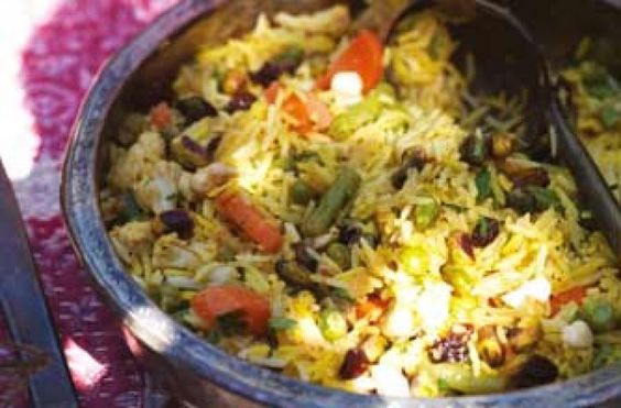 Gordon Ramsay's vegetable pilau from Great Escape