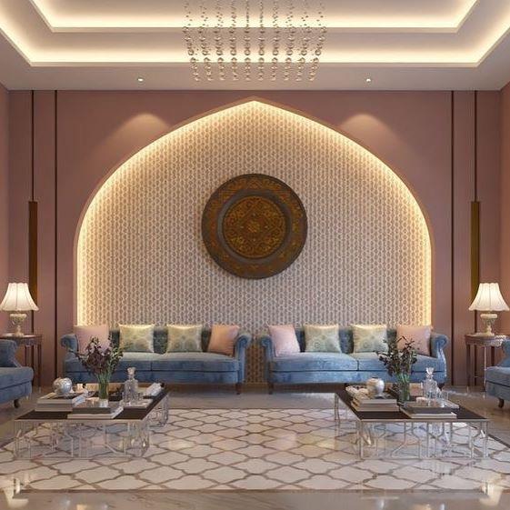 مركز أصباغ وديكورات جميع انواع الديكوراتوالاصباغ الحديثة الخارجيه والداخليهوراق الجدران Moroccan Home Decor Ceiling Design Bedroom Bedroom False Ceiling Design