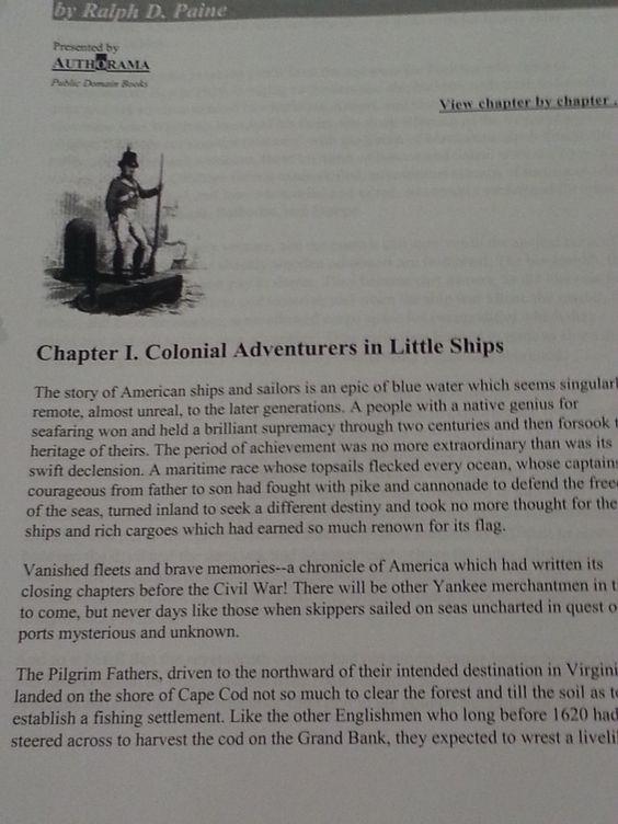 google doc book about the Merchant Marine
