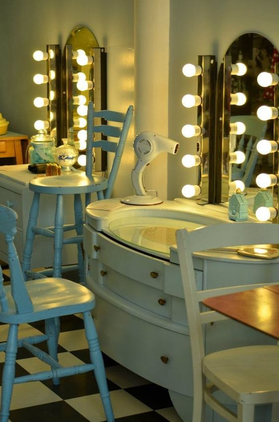 vintage hair salon the vintage salon birmingham hair salon ideas the powder room by. Black Bedroom Furniture Sets. Home Design Ideas