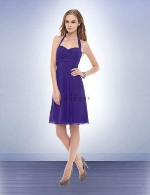 Bill Levkoff Regency Purple Bridesmaids dress.