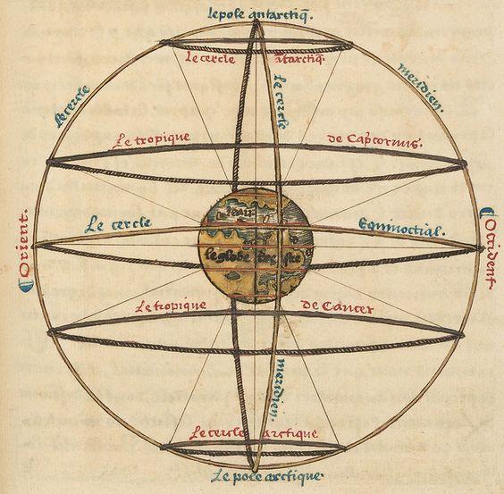 Le sphere de monde by Oronce Fine, 1549 j    / Sacred Geometry <3: