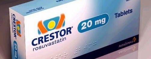 كريستور اقراص لعلاج ارتفاع الكوليسترول Crestor Crestor Personal Care Toothpaste