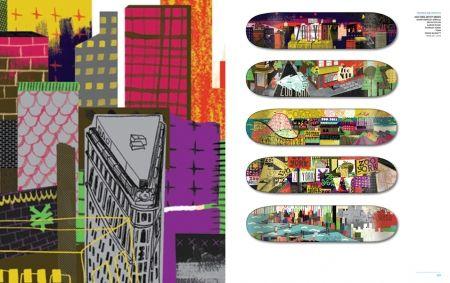 Livro new skateboard graphics - Clube do skate