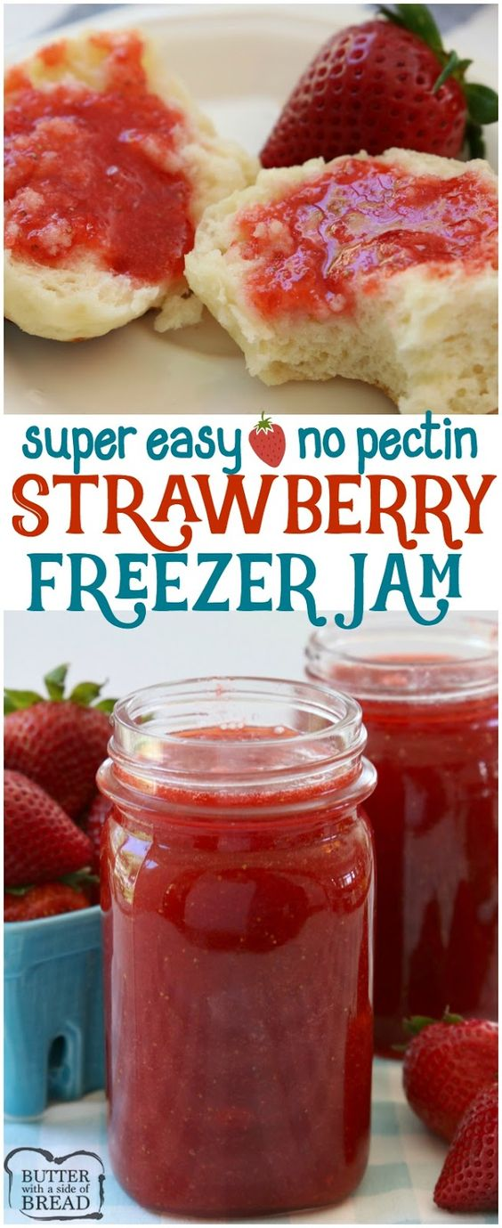 Easy No-Pectin Strawberry Jam Recipe