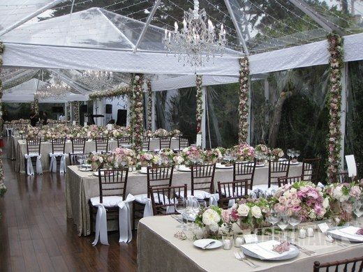 Wedding party tent decoration ideas tents pinterest for Outdoor tent decorating ideas