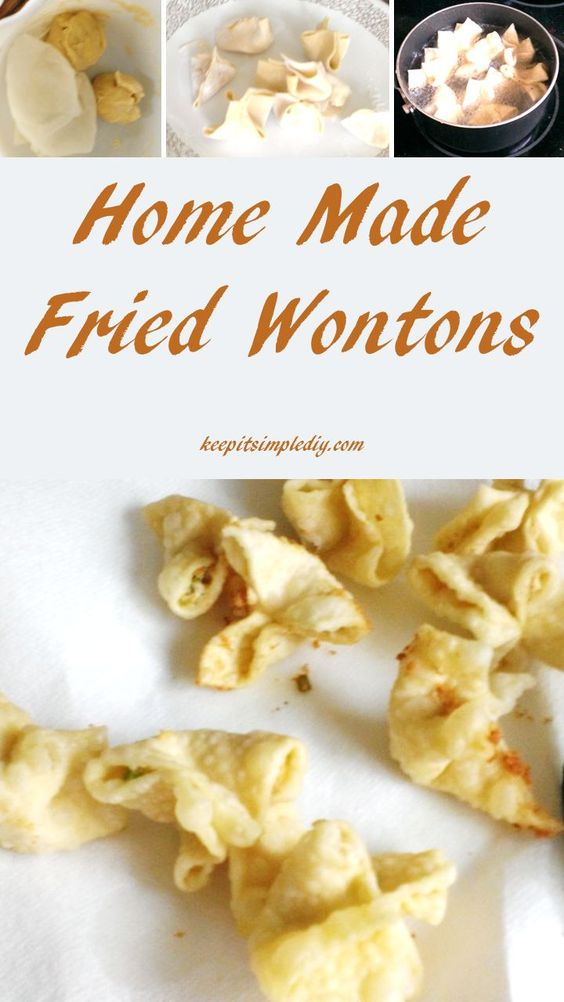 My favorite part of any Chinese meal is the Crab Cream Cheese Wontons.  One day I decided to try to make them from scratch and I determined that it's actually really simple! As we know, I'm an abstract cook, thus I don't typically use timers or measuring devices. Ingredients Flour Egg Water Salt Cream Cheese …