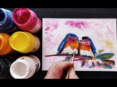 Easy Poster Colour Painting For Beginners Mothers Day Painting Abstract Painting Ideas For Beginner Poster Color Painting Beginner Painting Abstract Painting