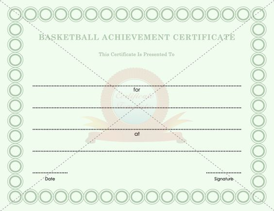 Certificate templates - Free Printable Certificate Templates - achievement certificate templates free